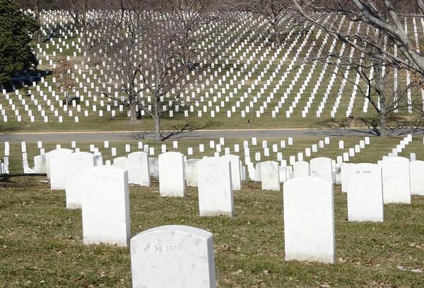 Arlington National Cemetery March 2014