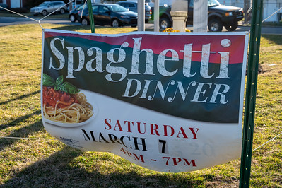 NAMI Spaghetti Dinner, March 7, 2020