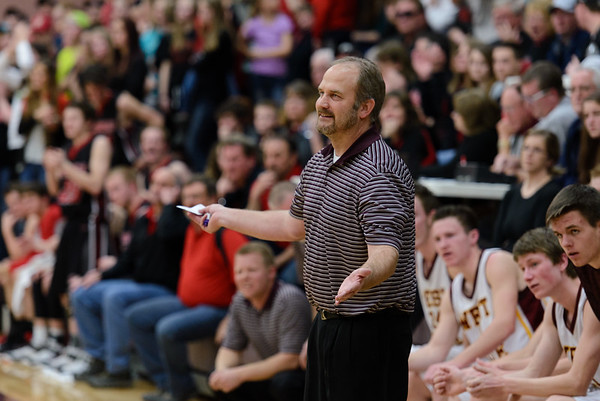 West Side 39 v. Soda Springs 44 District Playoff game