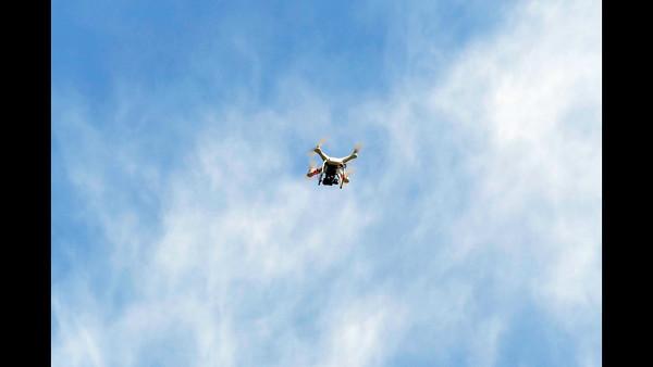 Don Drone, Leaf Blower