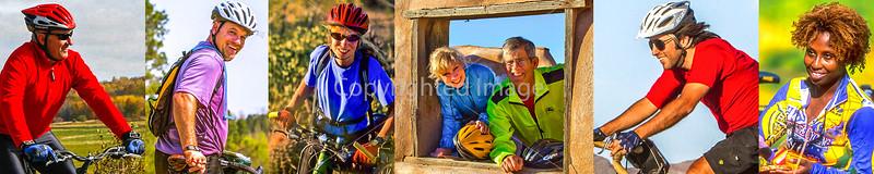 1J) Cyclist Close-Ups - Smiles - Miscellaneous