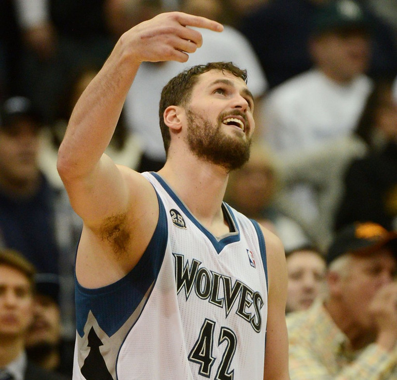 """. <p><b> Minnesota Timberwolves fans have come to the realization that this season they will not have � </b> <p> A. Kevin Love <p> B. Ricky Rubio <p> C. Trouble getting tickets for $5 on StubHub <p><b><a href=\'http://www.twincities.com/timberwolves/ci_25788856/timberwolves-reportedly-open-idea-trading-kevin-love\' target=\""""_blank\""""> LINK </a></b> <p>    (Pioneer Press: Chris Polydoroff)"""