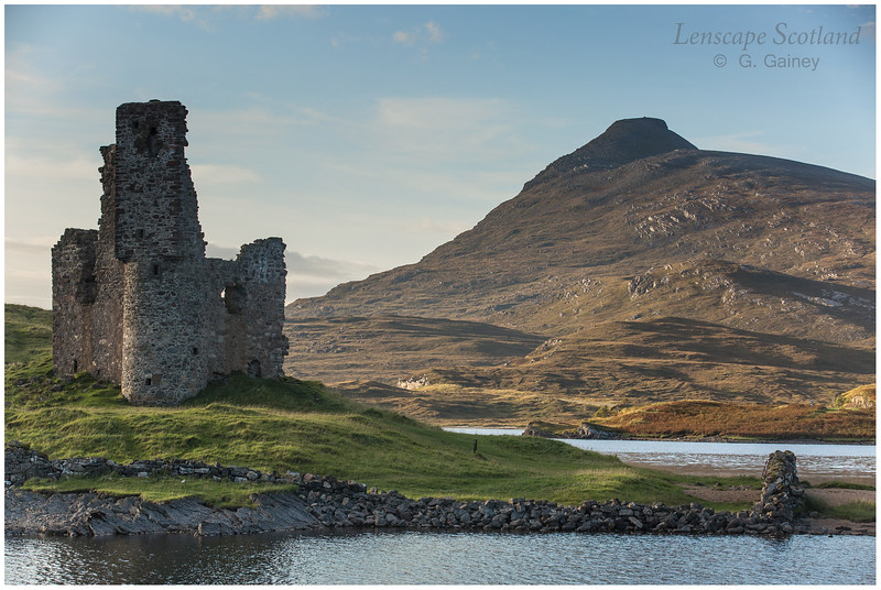 Ardvreck Castle, Loch Assynt and Quinag