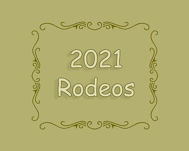 2021 Rodeos