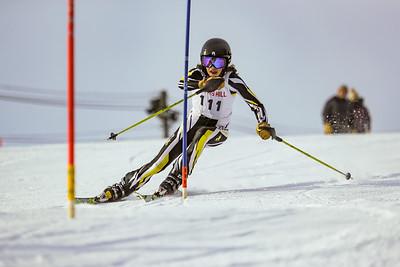 2019-01-19 Kent's Hill: Pakulski Slalom