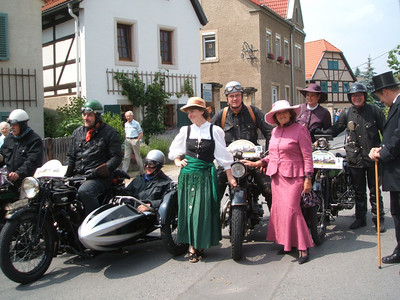 Dresden Oldtimer & Classic Motorcycle Rally 2006