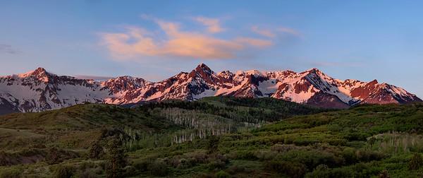 Dallas Divide Sunrise near Ridgway, Colorado