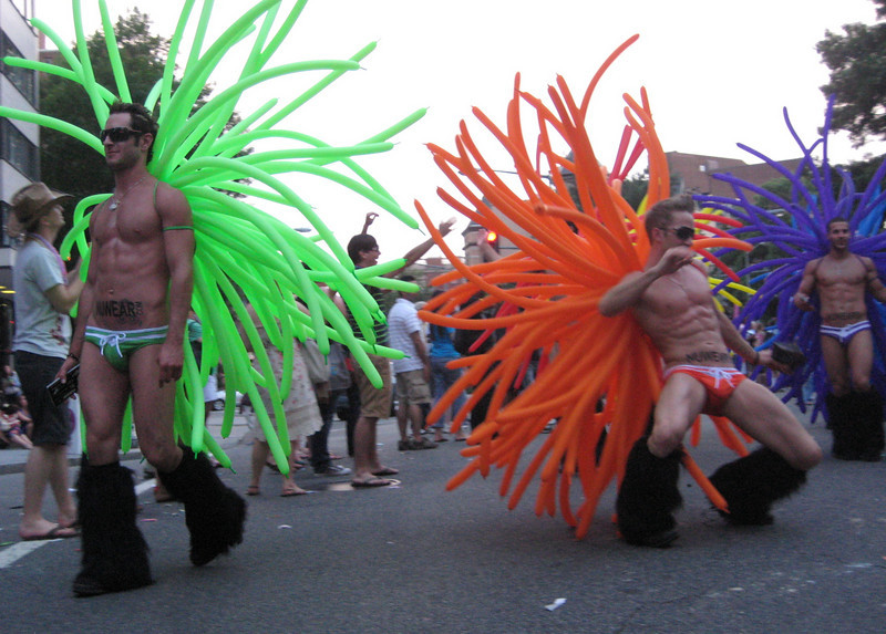the pride parade in dc