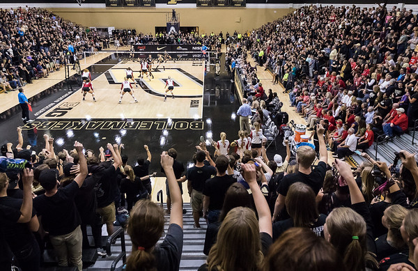 Purdue Volleyball vs Wisconsin 2016-9-30