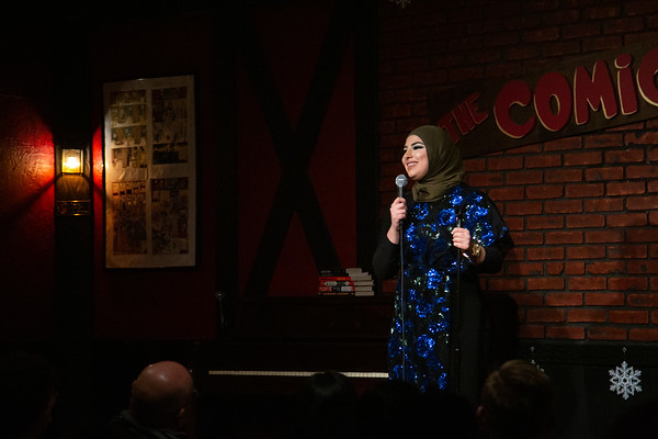 Nina Kharoufeh - Big Brown Comedy Show - 012019