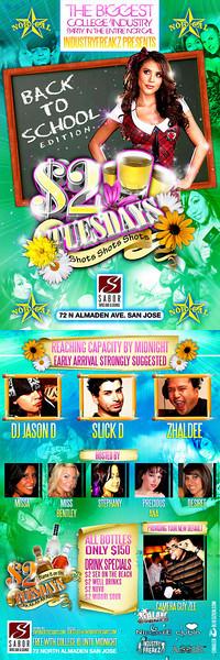 $2 Tuesday @ Sabor Tapas Bar & Lounge 9.22.09