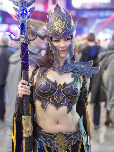 Cosplay girl at Igromir 2013