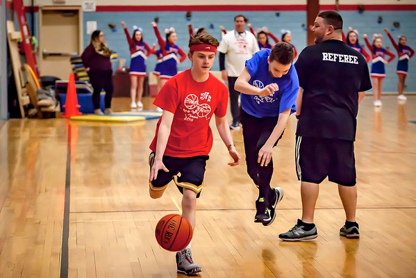 JFK Student vs. Faculty Basketball Game 2018