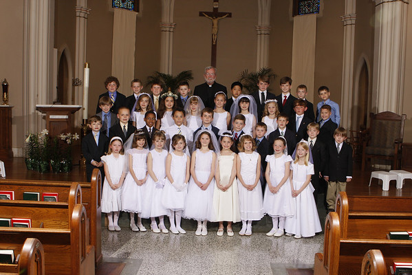 2008 FIRST COMMUNION