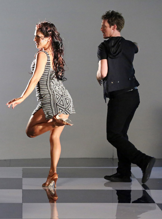 ". Tristan Macmanus and Sharna Burgess  from ""Dancing with the Stars.\"" This season\'s dynamic lineup of stars  will perform for the first time on live national television with their professional partners during the two-hour season premiere of \""Dancing with the Stars,\"" on Monday, March 18 (8:00-10:01 p.m., ET) on the ABC Television Network.  (ABC/Adam Taylor)"