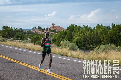 Camel Rock Santa Fe Thunder Half Marathon 2019