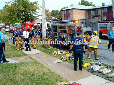 9/24/04 - Lansing apartment fire, 3900 Richwood