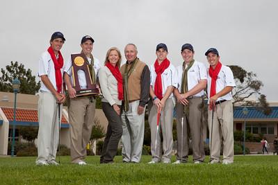 CSUMB Golf Team Xmas Card