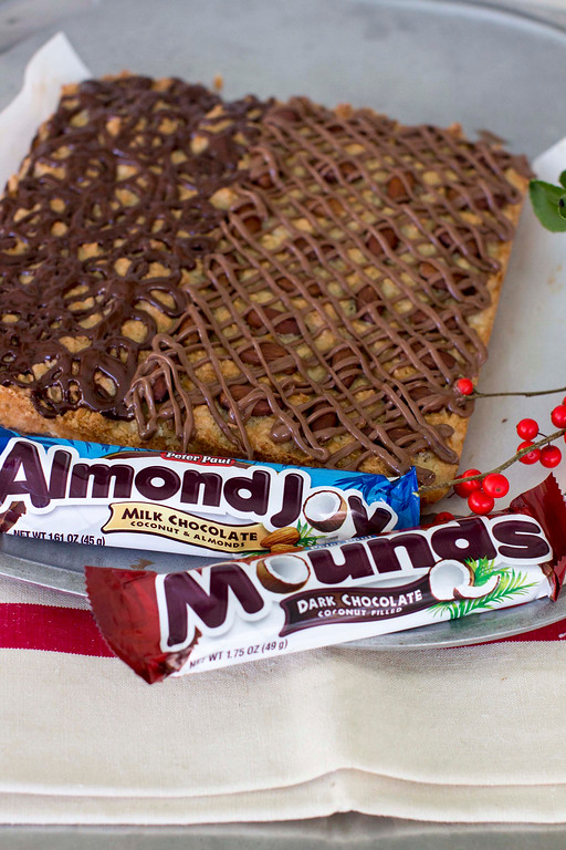 ". When it comes to holiday cookies, everything depends on the recipe and a few simple techniques. <a href=""http://www.morningjournal.com/lifestyle/20141128/recipe-a-holiday-cookie-inspired-by-almond-joy-and-mounds\"">Get the recipe for macaroon bars, inspired by Almond Joy and Mounds</a>. (AP Photo/Matthew Mead)"