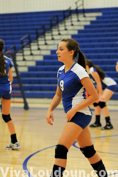 JV Volleyball: Tuscarora vs Dominion 9-16-10 -Chris Anderson