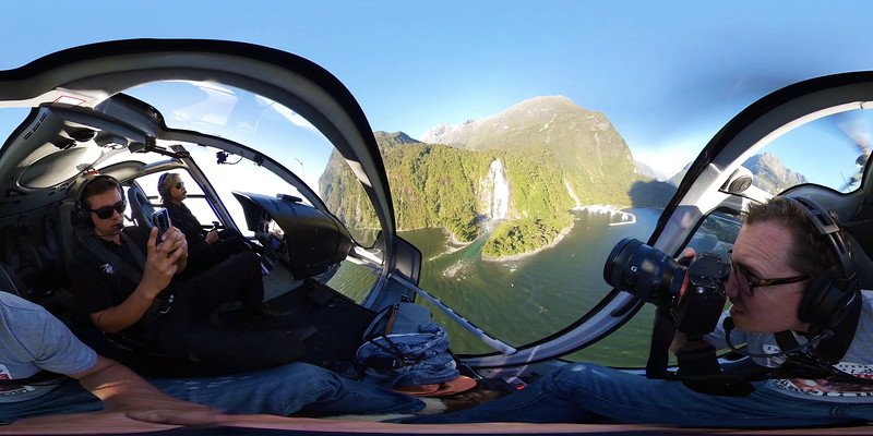 Shooting Video With 8K Cameras Attached To Helicopters In New Zealand!