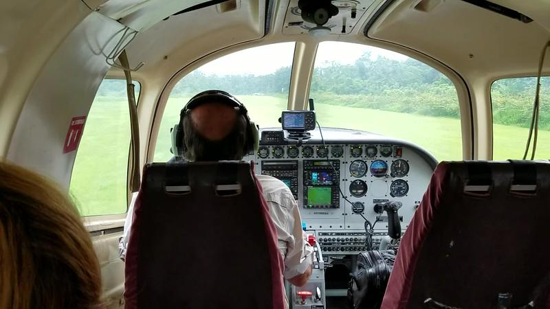 Landing - Karawari Airstrip.