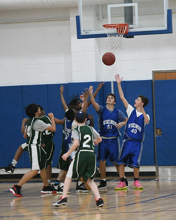 WMS Grades 8 & 9 Boys Basketball and WMS Cheer - February 6, 2020