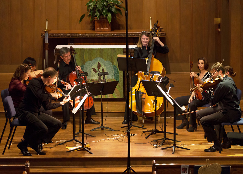 Full Octet playing Bruch