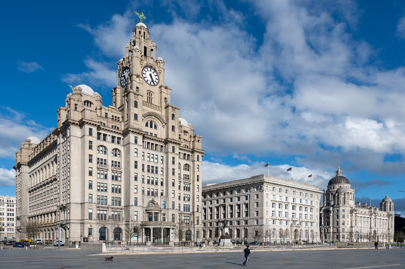 The Three Graces, Liverpool