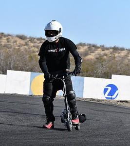 White Helmet GoPed