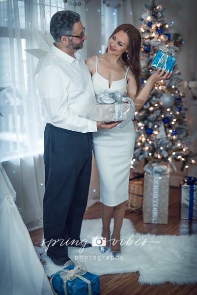 Christmas Photoshoot _Stephen & Tatiana