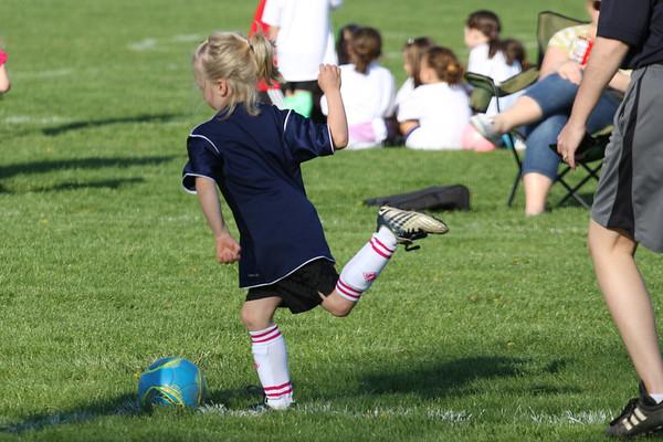 Morgan Girls Soccer, May 2013