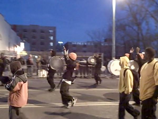 Cowbowrettes drummers, Parade.jpg