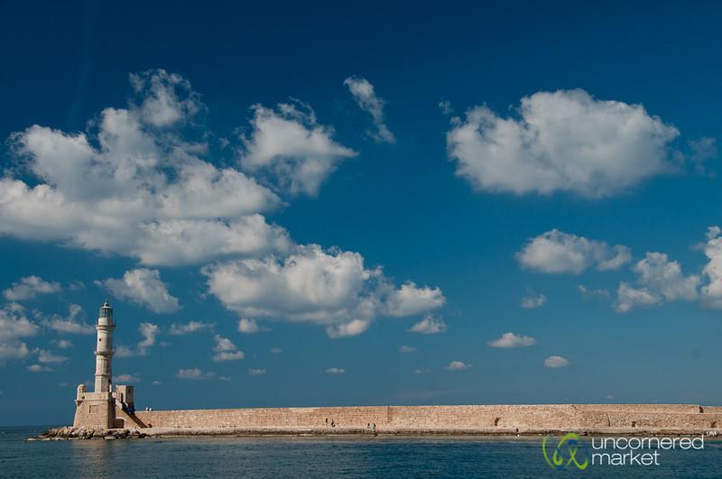 Chania Lighthouse  - Crete, Greece