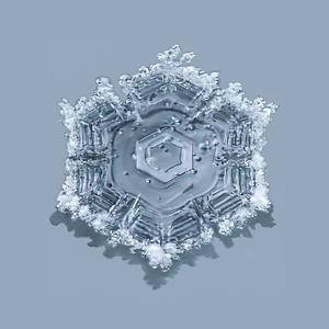 SNOWFLAKES (SQUARE)
