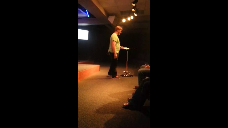 Chandler Preaching