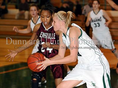 2009-01-30 - Lewisville v Southlake Carroll - Girls Varsity Basketball