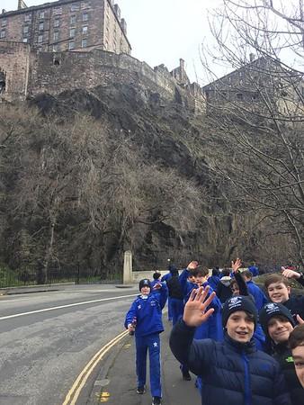 Edinburgh Rugby Trip