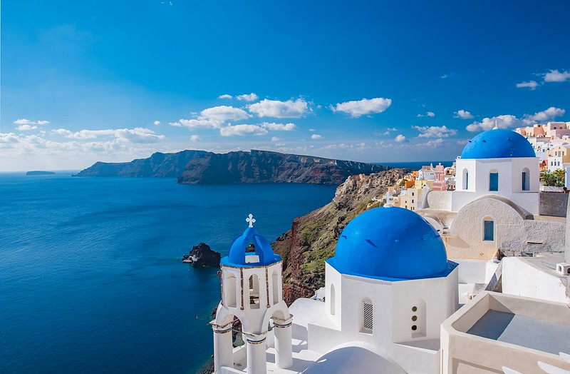 Seaside of Greece - best places to visit in September