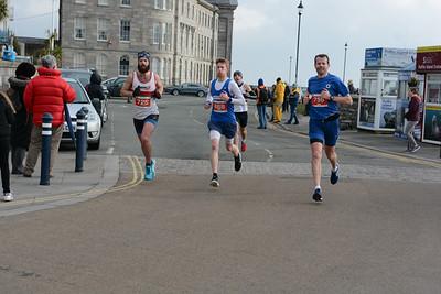 Anglesey Half Marathon at 9 Miles.