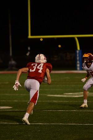 Varsity Football vs. Roncalli: Homecoming