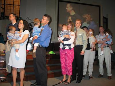 2003- Baby Dedications