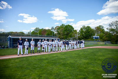 Varsity Baseball vs. Westhill - Senior Night - May 13, 2021