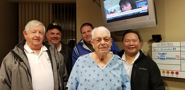 2017-12-17 Visiting Murray at Hospital