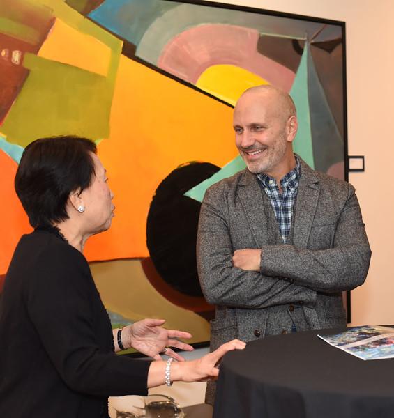 Michael DiGuiseppe & Paula Penn. November 9, 2017. Pakan Penn a Life in Motion. Amanda Warden.