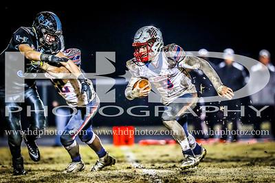 Huntingtown vs Northern, Varsity 11-16-18
