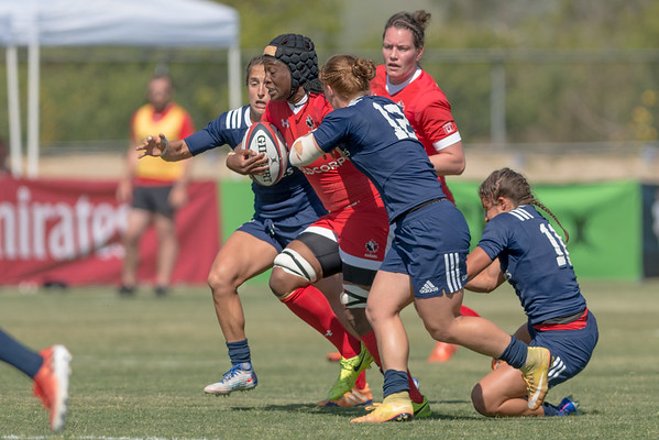 April 1, 2017 - Can-Am - USA Eagles v Canada Women's Rugby