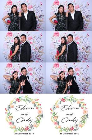 Edison & Cindy 21 Dec 19 Photobooth Album