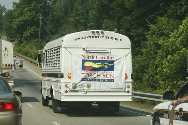 June 5, 2006 - Special Olympics North Carolina Torch Run