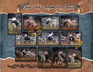 Deanna 2012 Cowboy Mounted Shooting